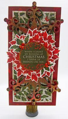 #CHRISTMAS CAROL #CARD LORI WILLIAMS
