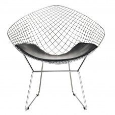 Morph Lounge Chair in Black by Edge Mod