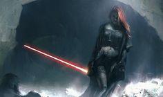 Monde De L'imaginaire | pixalry: Girls of Star Wars Concept Art -...