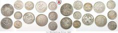RITTER China, Republic, 15 Silver Coins, Small Denominations, Tibet, Hongkong #coins