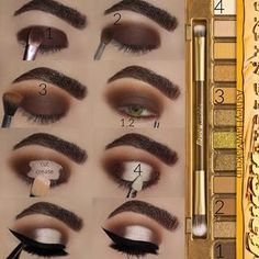 Urban Decay natürliches Make-up How to Plant Gardening Containers Or Gardening Pots In Your Containe Eye Makeup Steps, Makeup Eye Looks, Beautiful Eye Makeup, Eye Makeup Art, Smokey Eye Makeup, Love Makeup, Skin Makeup, Eyeshadow Makeup, Makeup Tips