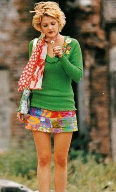 Drew Barrymore in Wishful Thinking 90s Fashion, Vintage Fashion, Fashion Trends, Street Fashion, Drew Barrymore 90s, Drew Barrymore Style, Berry, 90s Outfit, My Girl