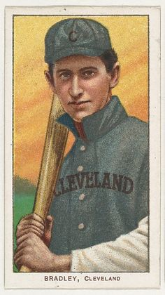 Bradley, Cleveland, from the White Border series (T206) for the American Tobacco Company