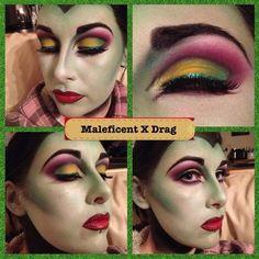 Maleficent - Disney Evil Queen. http://www.makeupbee.com/look.php?look_id=79505