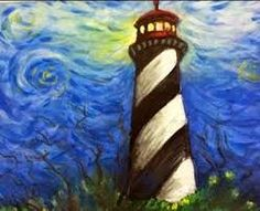 lighthouse art elementary - Google Search