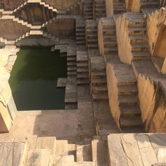 Amber Fort in Jaipur Rajasthan in India stepwell