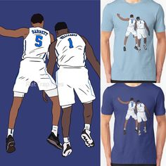 e59fe71139a450 Shop RJ Barrett And Zion Williamson zion williamson t-shirts designed by  rattraptees as well as other zion williamson merchandise at TeePublic.