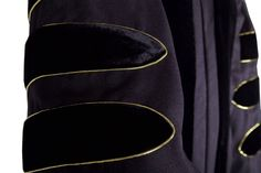 Premium PhD All Black Gown, Cap, & Hood Regalia Set