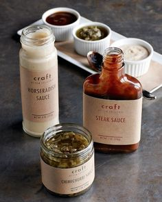 Craft Steak Sauces by Williams Sonoma
