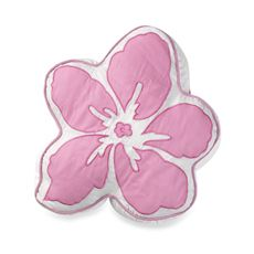 Hula Girl Flower Toss Pillow - Bed Bath & Beyond - $12 clearance.. online only.. free shipping