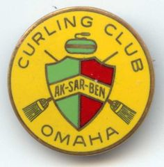 Ak-Sar-Ben Curling Club Pin Image
