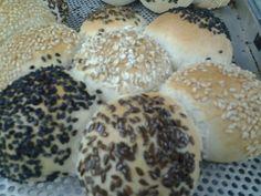 Mini-pão salgado com Gergelim, Aveia e Linhaça