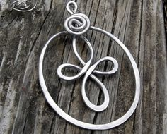 Celtic Loops Spiral Cross Ornament  Aluminum by nicholasandfelice, $ 15.50
