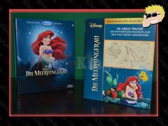 #Disney's #Arielle #DieMeerjungfrau  #CollectorsEdition #Digibook #BluRay #TheLittleMermaid Disney, Cover, Books, Ariel, Libros, Book, Book Illustrations, Disney Art, Libri