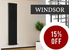 Get 15% off our luxury Windsor radiators