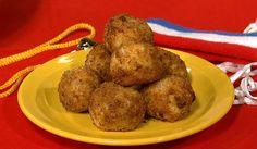 the chew | Recipe  | Michael Symon's Fried Cheese Balls