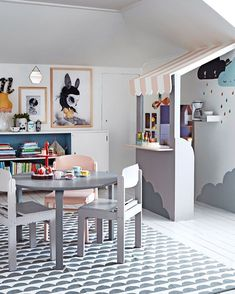 51 Amazing Dream And Creative Small Playroom Ideas For Your Kids - Dlingoo Small Playroom, Playroom Design, Kids Room Design, Children Playroom, Playroom Ideas, Playroom Decor, Deco Kids, Kids Corner, Kid Spaces