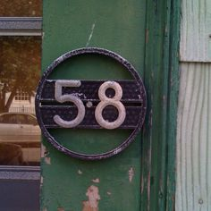 old house numbers in east cambridge. Taken by Patty Zerhusen. What's Your Number, Number Number, Numerology Numbers, Number Games, Alphabet And Numbers, House Numbers, You Got This, Detail, Cambridge