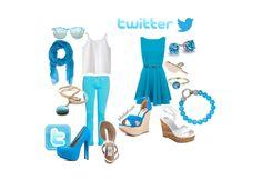 Kleed je als je favoriete sociale netwerk; Twitter bijvoorbeeld
