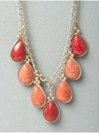 Dangle Stone Necklace
