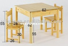 Wood Chair Plans Free - Wood Chair Plans Free, Plans for Wooden Outdoor Chairs Quick Woodworking Projects School Furniture, Pallet Furniture, Furniture Plans, Kids Furniture, Furniture Design, Shaker Furniture, Kids Table And Chairs, Kid Table, Dining Table