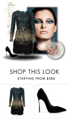 """""""I like to jazz it up once in a while x"""" by xpinkplaymatex ❤ liked on Polyvore featuring Casadei"""