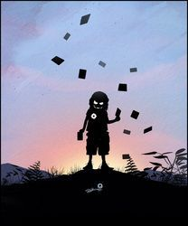 E t kid Cute Kid Illustrations by UK based artist Andy Fairhurst Iron kid Spider kid Thor kid Storm kid Magneto kid Joker kid Jack skellington kid Superhero Silhouette, Kids Silhouette, Comic Book Characters, Comic Books Art, Comic Art, Baby Superhero, Superhero Classroom, Superhero Family, Fuchs Silhouette