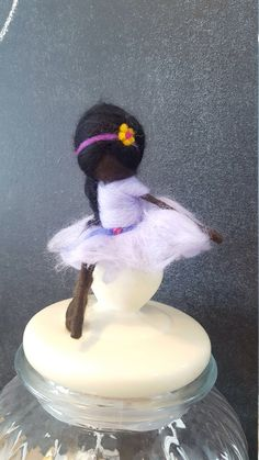 Black Fairy, African American doll, Waldorf fairy doll, Needle felted Ethnic doll, Dark skin, native american doll, wool fairy, Ornament by 7Fairies on Etsy https://www.etsy.com/ca/listing/538706933/black-fairy-african-american-doll