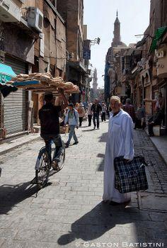 """Fast bread delivery. """"Al Azhar"""" """"Bab Zweila""""Cairo, Egypt"""