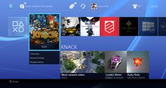 PS4 New User Interface (Screen Shots)