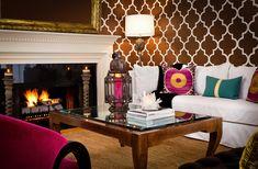 Moroccan Inspired Interiors | Arabesque Rooms | Interior Design