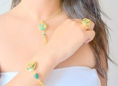 Allah jewelry arabic jewelry muslimah bracelet muslim