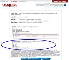 Usajobs Online Resume Builder  HttpWwwJobresumeWebsite