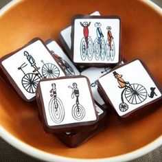 Recchiuti Confections - Creativity Explored Bicycles - Fine Chocolate Gifts San Francisco ($21.00) - Svpply