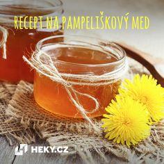 Heky.cz | Vychytávky | Jak si uvařit pampeliškový med - Heky.cz | Vychytávky Home Canning, Samos, Alcoholic Drinks, Homemade, Wine, Med, Orange, Fruit, Vegetables