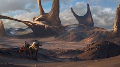 ArtStation - Mountain riders, Efflam Mercier