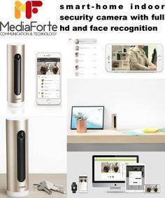 Netatmo mobile Welcome Smart-Home-Kamera mit Gesichtserkennung (Gold-Schwarz) Pinhole Camera, Spy Camera, Mobiles, Ipod Dock, Smartphones, Surveillance System, Security Camera, Sd Card