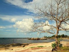 @Regrann from @suryahardhiyana -  Suatu sore di Pantai Tanjung Tinggi Belitung  Ikutan Telkomsel Photo Marathon @telkomsel_merahputih #TelkomselMerahPutih #TelkomselPhotoMarathon #TelkomselPhotoMarathonDay1 #LandscapeTelkomsel  #Wanderlust #Worlderlust #InstaTravel #Travelgram #Traveling #Journey #Travel #Belitung #Regrann Photo Marathon, Belitung, Stamp, Paradise, Clouds, Sunset, Places, Board, Instagram Posts