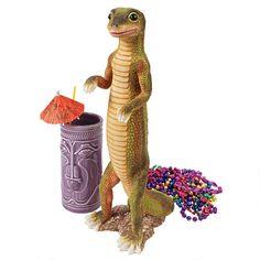 Jo Jo, the Gecko Statue