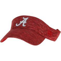 low priced 72bb4 cec8b Alabama Crimson Tide Top of the World Energy Visor - Crimson