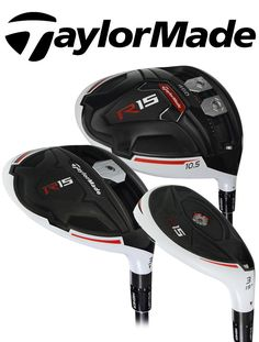 Taylor Made R15 Woods Sale - Drivers, Fairways, & Hybrids Available! | Rock Bottom Golf #rockbottomgolf