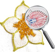 "Motif ""Flower-Talisman"" made by JTHOUSE CROCHET SCHOOL"
