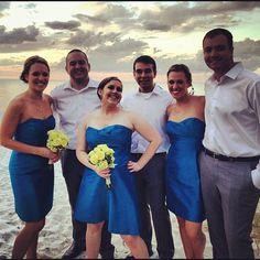Hello happies. Why yes, you can go to cocktail hour. Good work! #mzlwedding #naples #wedding - @weddingtidbits- #webstagram