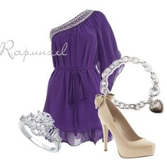 """Rapunzel"" by disneybound on Polyvore"
