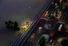 Avenida Atlântica, Copacabana, Rio de Janeiro - RJ, Brasil