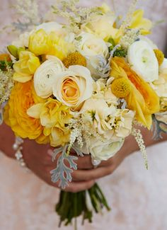 The Lemon Chiffon Bouquet for Rachel at Cannery ONE, September, 2013.