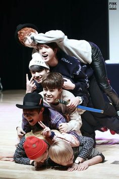 Bangtan Boys being adorkable as always