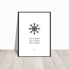 Christmas decoration . Snowflake . graphic poster by handywomenDK