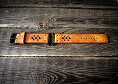 Vintage Distressed Apple Watch Band Strap Handmade leather strap/band for Apple Watch 42mm