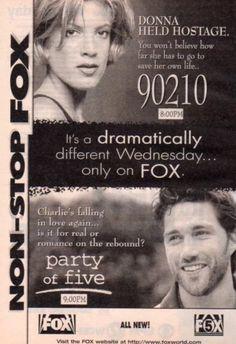 School Tv, High School, Daughters, To My Daughter, Jennie Garth, Luke Perry, Beverly Hills 90210, Tv Ads, Save Her
